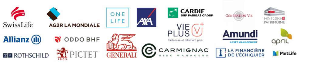 Liste des partenaires d'ACEPP Gestion Privée
